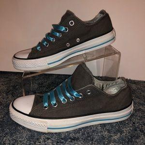 Converse Sz 7 Grey Sneakers